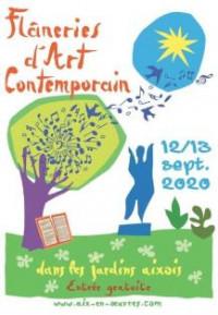 Flâneries d'Art Contemporain dans les Jardins Aixois 2021, Aix-en-Provence