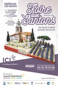 Foire aux santons 2021, Gréoux-les-Bains (Alpes de la Haute-Provence)